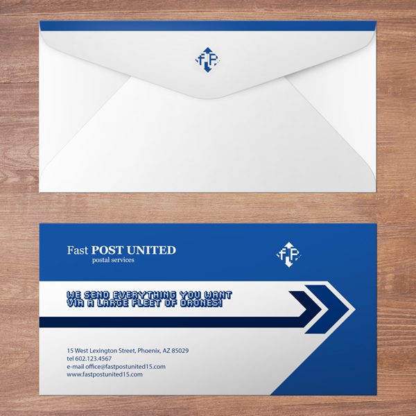 9.5x4.125 #10 Custom Envelopes